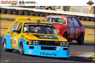 Stewart McLarty (Telscrew Products 1979 Mazda 323)