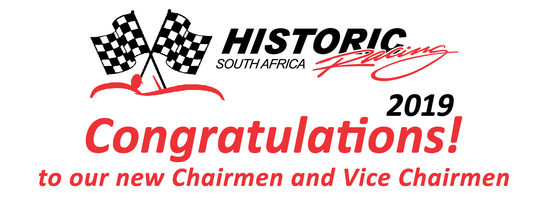 Congratulations to our new category chairmen and vice chairmen for 2019